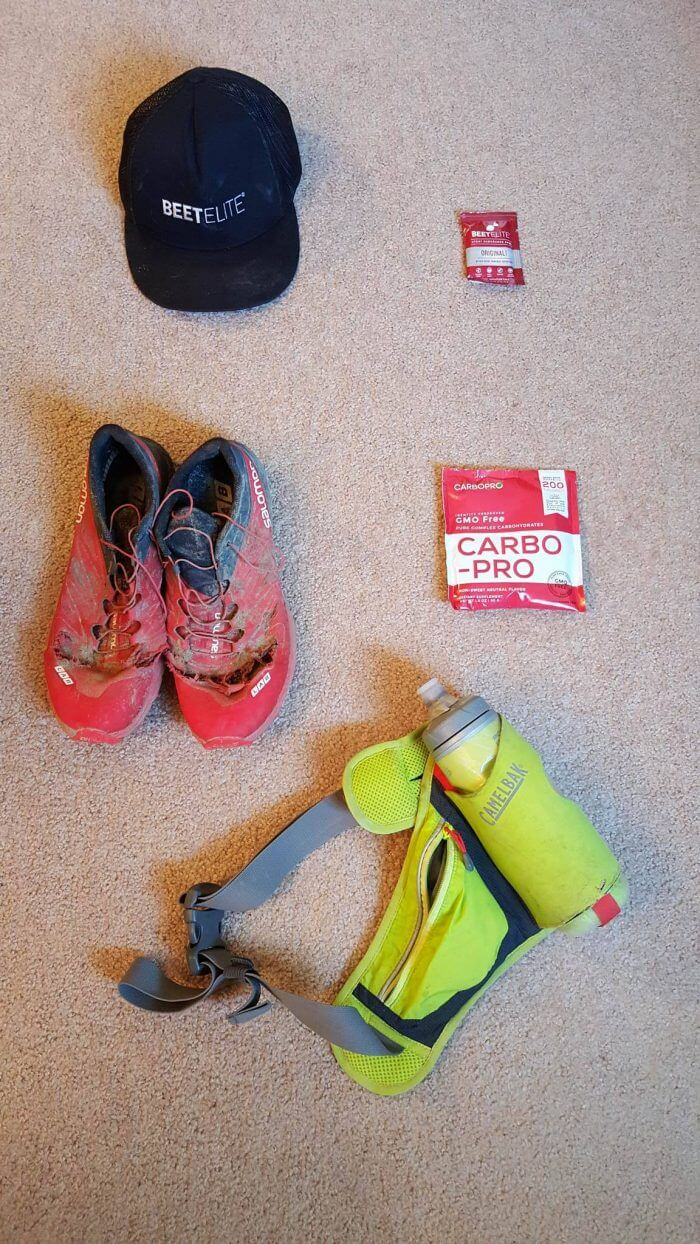 Miguel's trail running pack