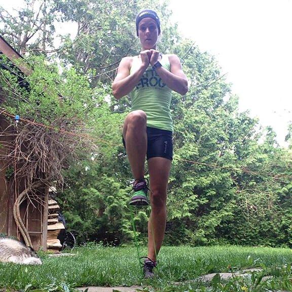 Vertical Knee Raises