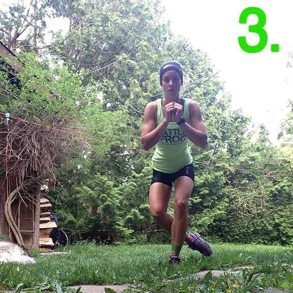 Lateral Hops Step 3