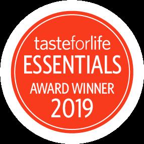 Taste for Life Essential Supplements Award Winner